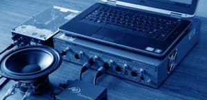 Audio test accessories for analog, digital and electro-acoustic measurement applications