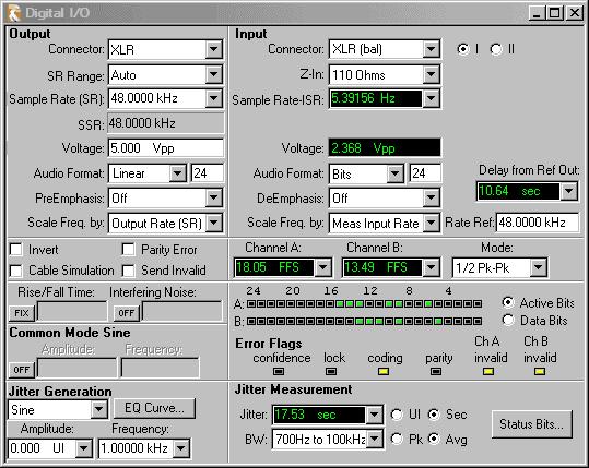 2700 Series Control Software - Audio Precision