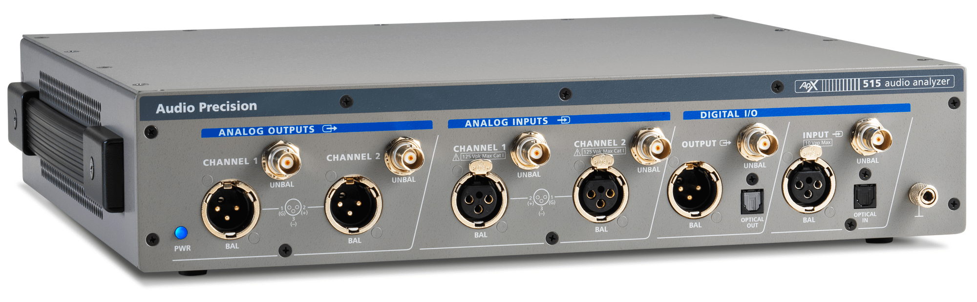 APx515 Two-Channel, Performance Audio Analyzer for Product Test and entry-level R&D applications
