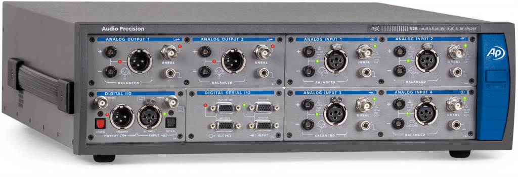 APx526 Audio Analyzer with Digital Serial option installed