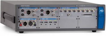APx582 Audio Analyzer with optional Advanced Digital and HDMI interfaces installed