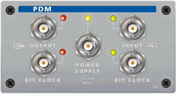 PDM Module for APx Series Audio Analyzers