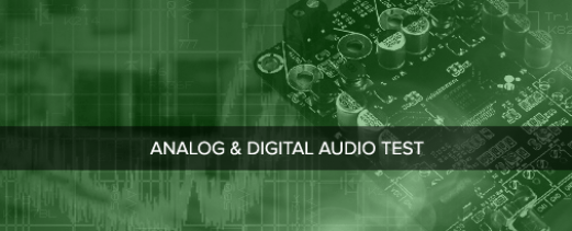Audio Precision support for the testing of analog and digital audio devices