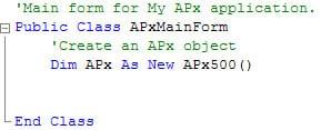 APx API Template