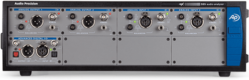 APx555 High-Performance, Modular Two-Channel Audio Analyzer