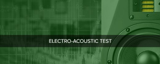 Audio Precision support for the electro-acoustic testing of loudspeakers, headphones, smart speakers and microphones
