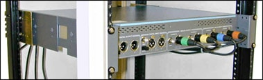 Rackmount kit for the ATS-2 analyzer