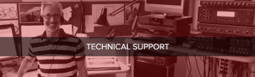 Technical Support for Audio Precision audio analyzers plus analog, digital and electro-acoustic test applications