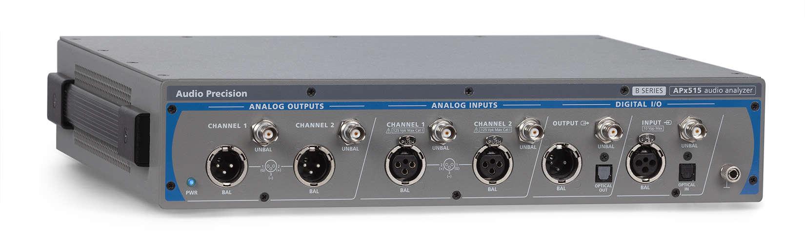 APx515 B Series Two-Channel Audio Analyzer