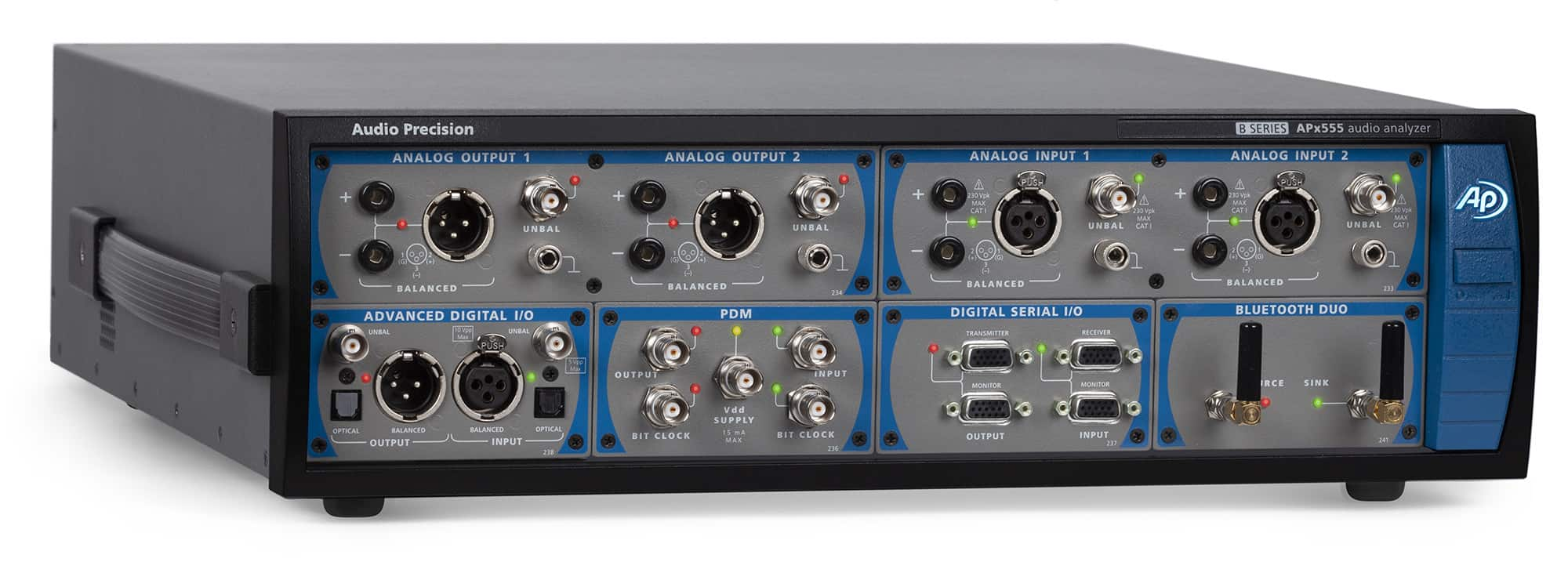 APx555 B Series High-Performance, Modular Audio Analyzer