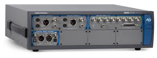 APx582 B Series Eight-Channel Modular Audio Analyzer