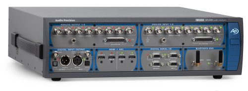 APx585 B SeriesAudio Analyzer with HDMI, Digital Serial and Bluetooth Modules installed