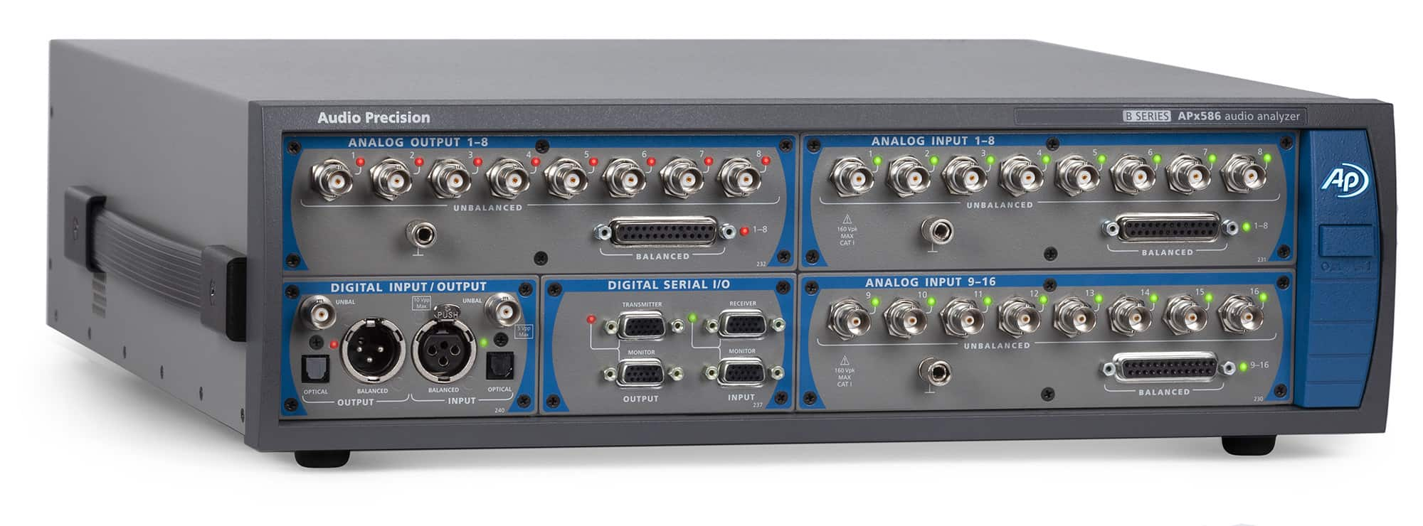 APx586 B Series Audio Analyzer with optional Digital Serial Module