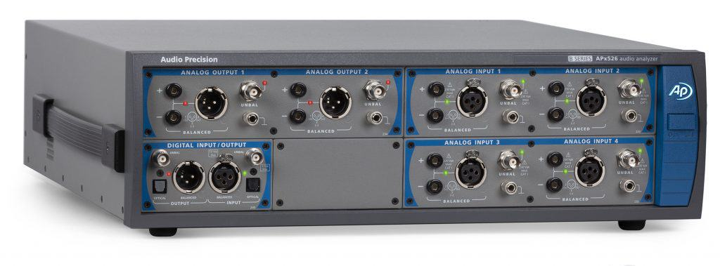 APx526 B Series Modular, Four-Channel Performance Audio Analyzer