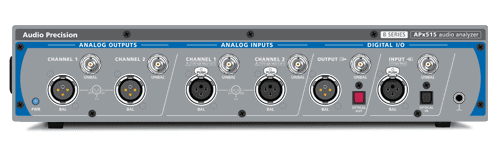 APx515 Two-Channel Performance Audio Analyzer for Production Test and entry-level R&D
