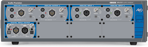 APx52x Series Modular, Two- and Four-Channel Performance Audio Analyzers