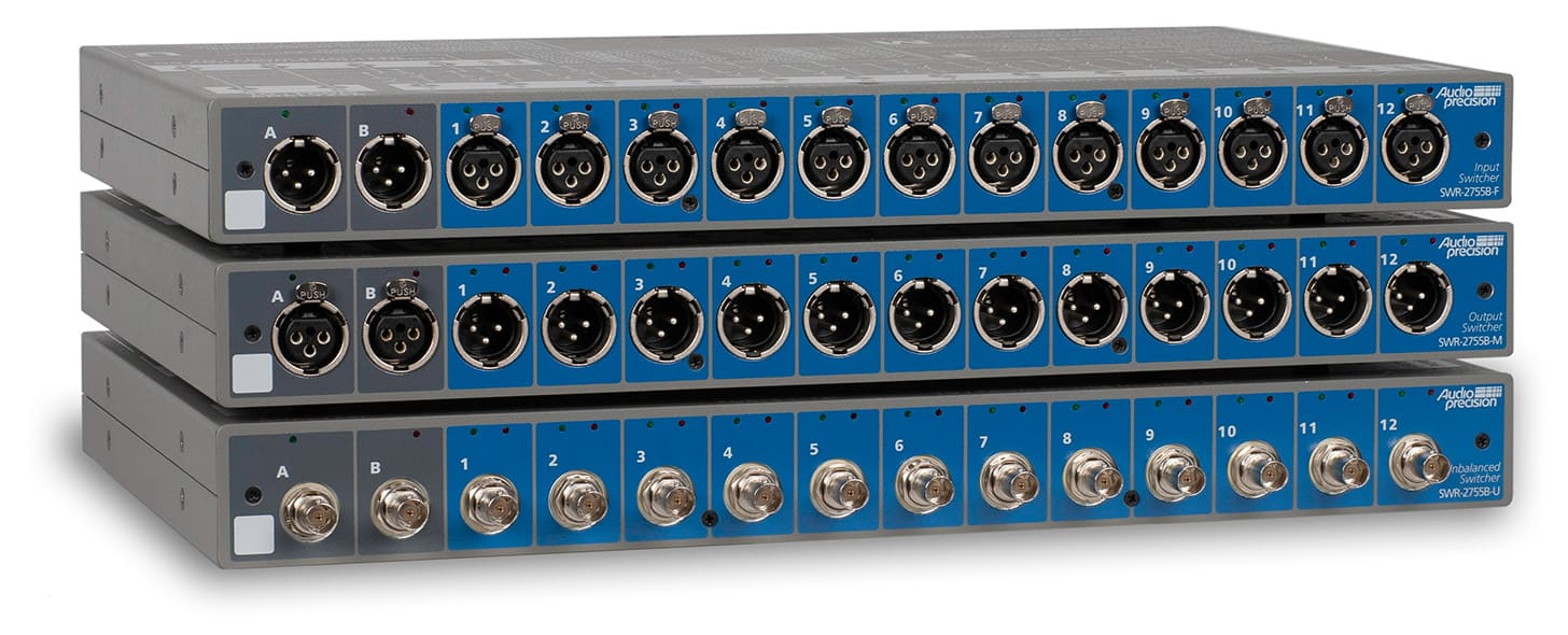 Audio Precision SWR-2755B Series Switchers
