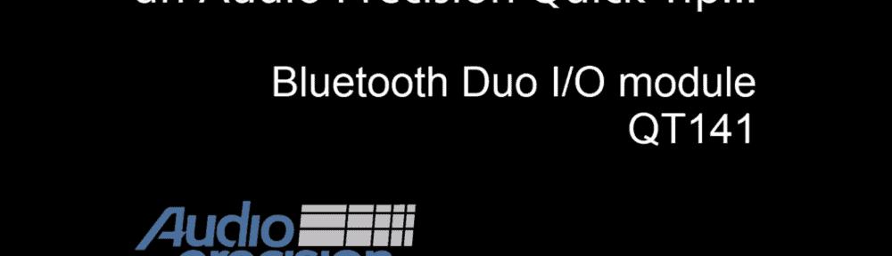 Quick Tip 141 - Bluetooth Duo Module