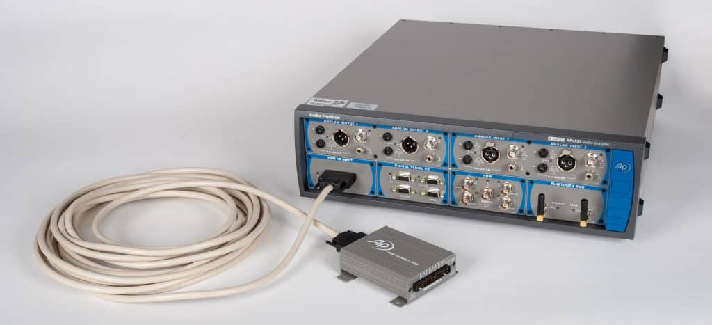 APx PDM 16 Module, Remote Pod and cable with APx525 B Series Audio Analyzer