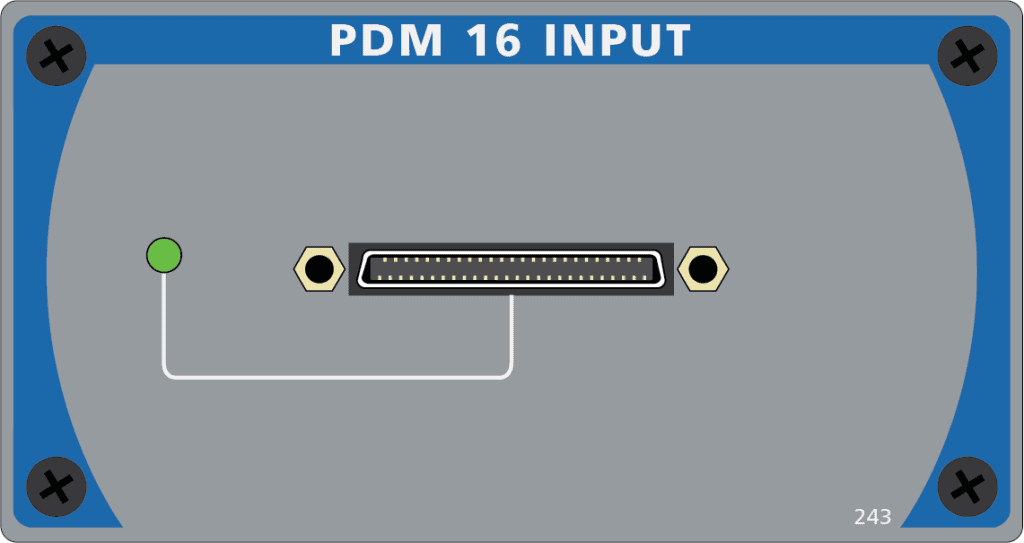 PDM 16 Input Module for APx B Series Audio Analyzers